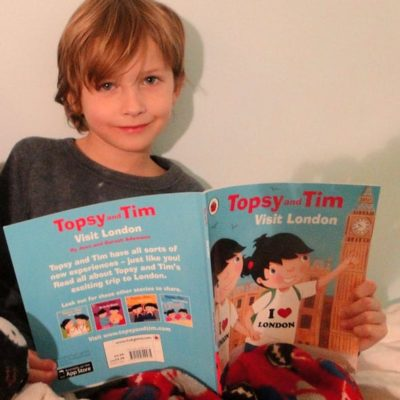 Children's Books on London to read for a visit: Part 1