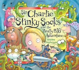 Sir Charlie Stinky Socks first in kids book series