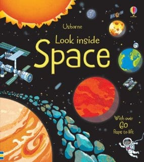 Usborne book on space travel for kids