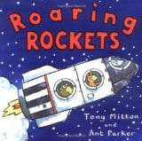 Roaring Rockets book for space travel for kids