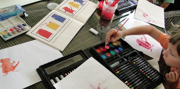 what you need to paint and mix colors