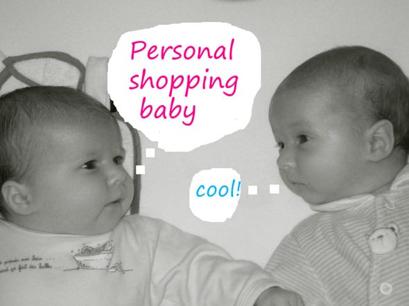 personal shopping baby is cool for kids