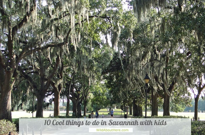 What to do with kids in Savannah Georgia