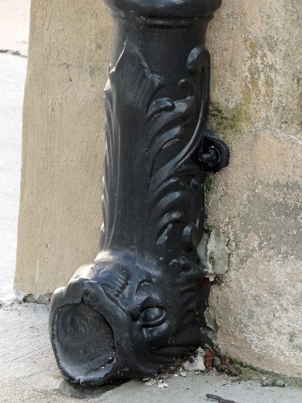dolphin downspout