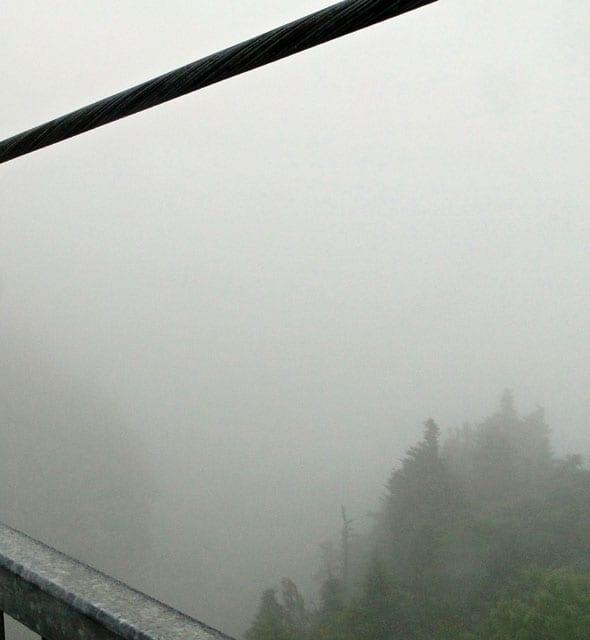 mist mile high swinging bridge