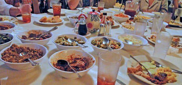 food served mrs wilkes savannah