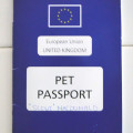 UK passports for pets