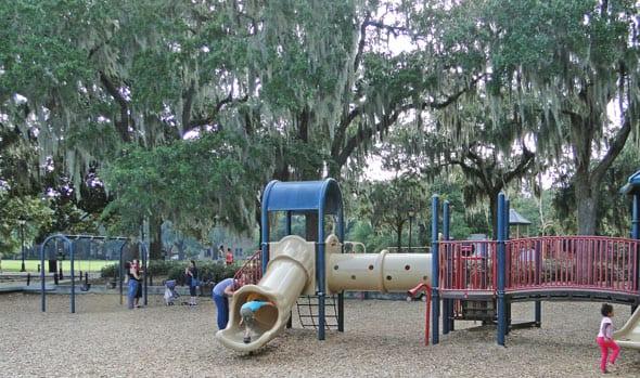 Playground Forsyth Park Savannah
