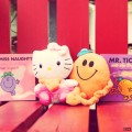 Mr men and hello kitty