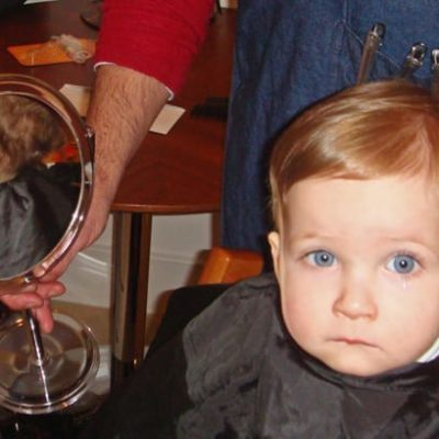 First haircut –  top children's hair salons in London
