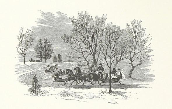 Sleigh Scene British Library