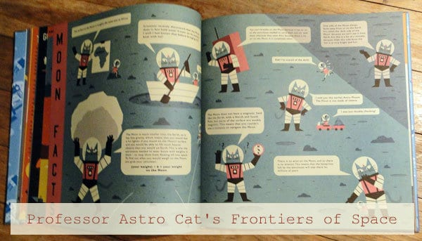 Found it. The perfect space book for kids. Professor Astro Cat's Frontiers of Space.