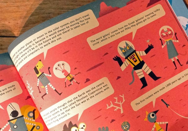 frontiers space childrens book