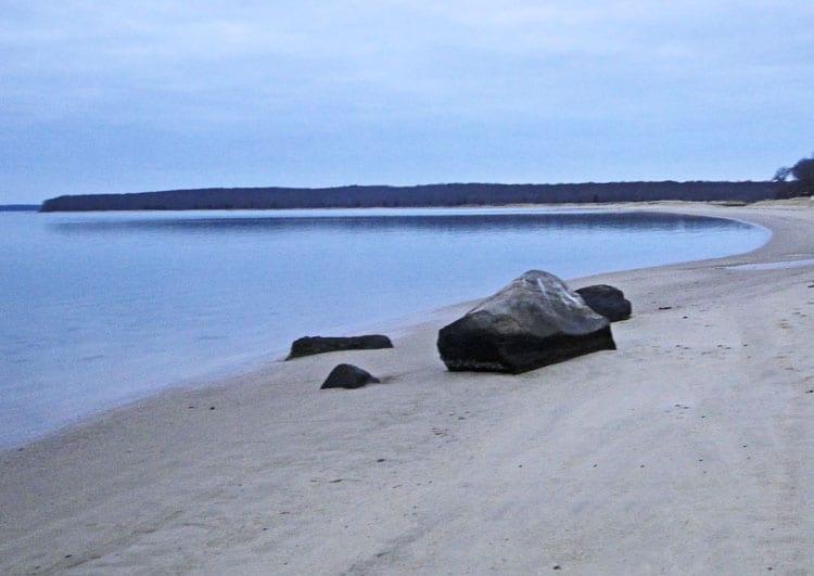 rocks beach zen garden