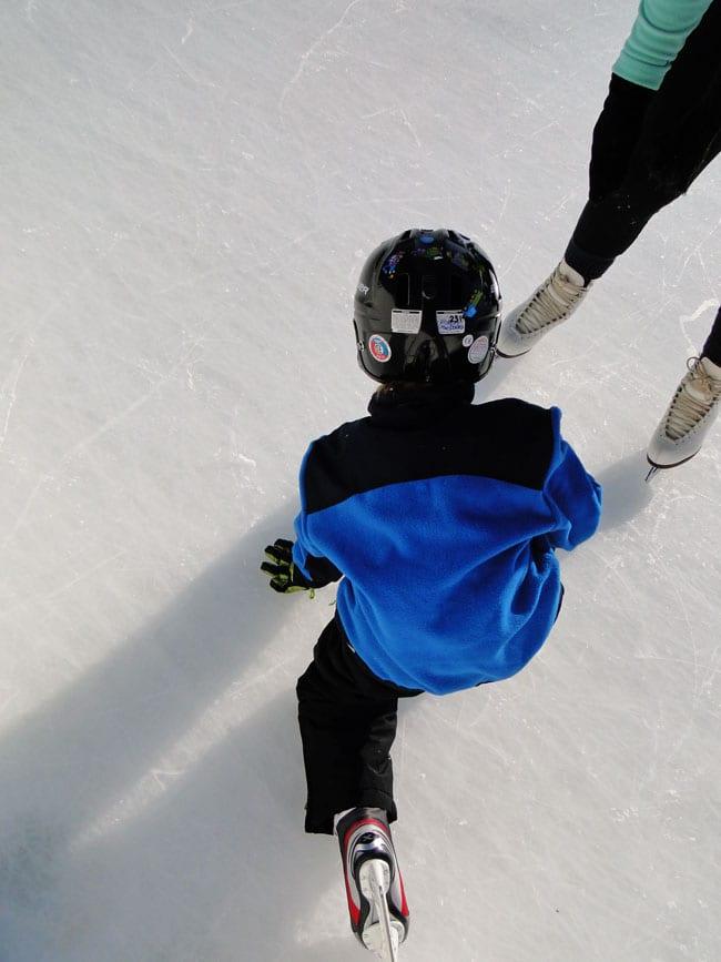 buckskill ice skating rink