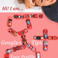 your profile google plus tips