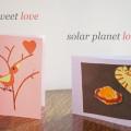 tweet love solar planet love valentine cards