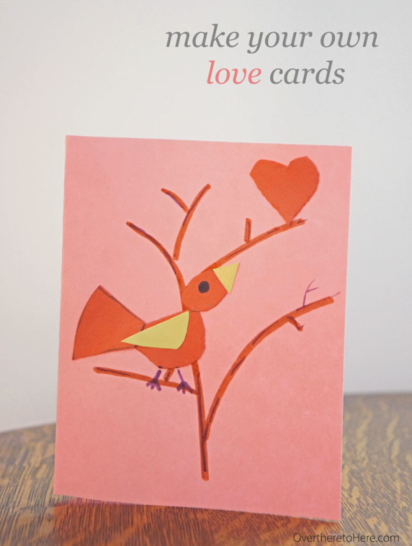 make your own love cards free template