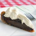 Chocolate Malt Pie plus mascarpone cream