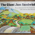 cover the giant jam sandwich