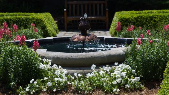 fountain garden Owens Thomas House