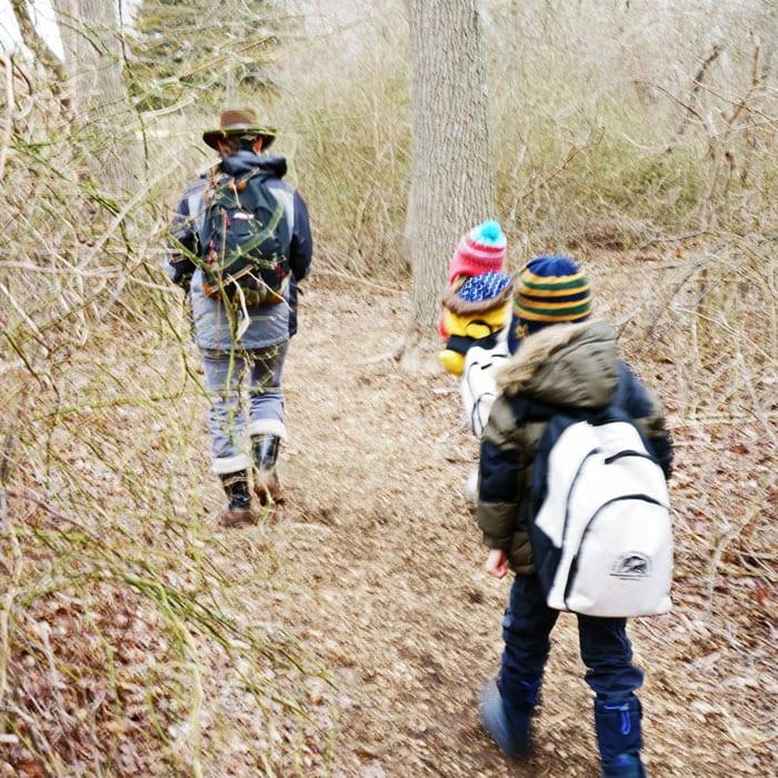 sofo expert child nature walk