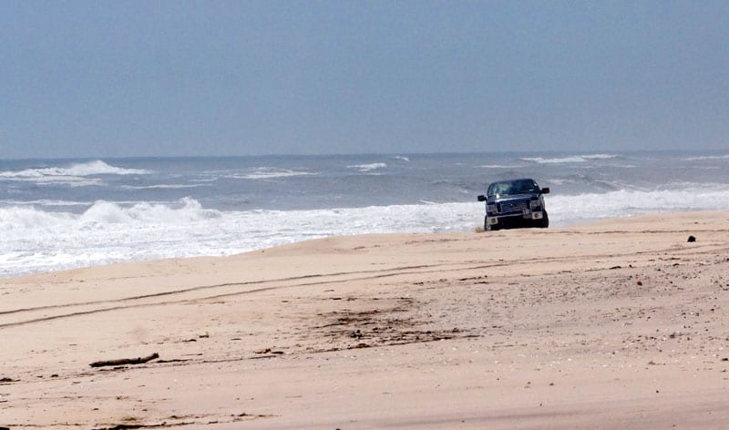 Driving on Atlantic Beach Hamptons