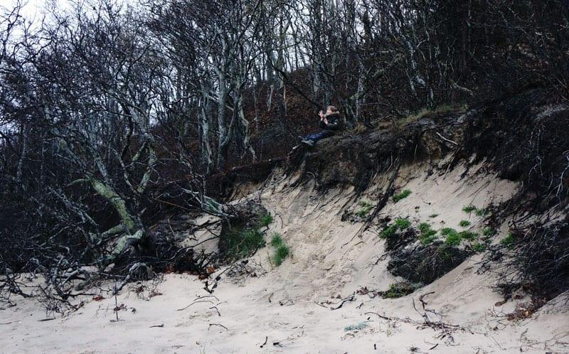 Bluff edge, Albert's Landing