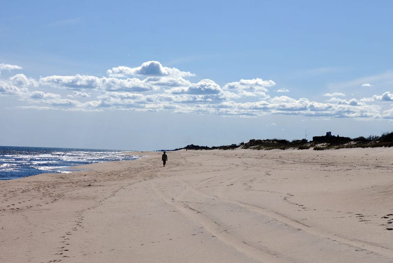East Hampton Village beach