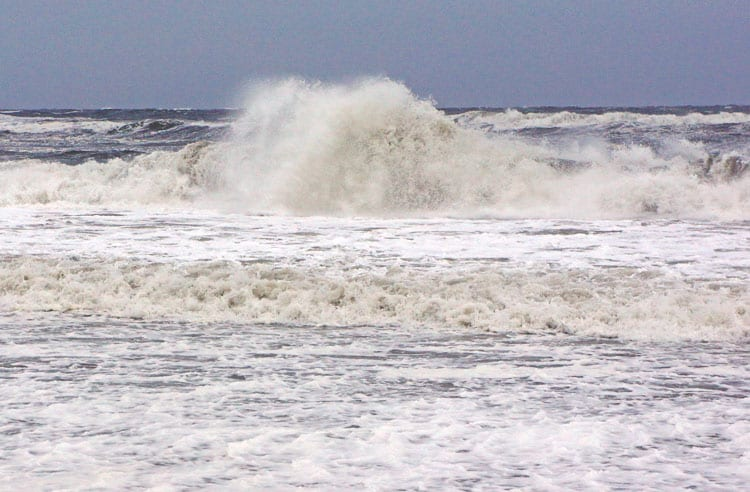 Stormy Waves Atlantic Beach Hamptons