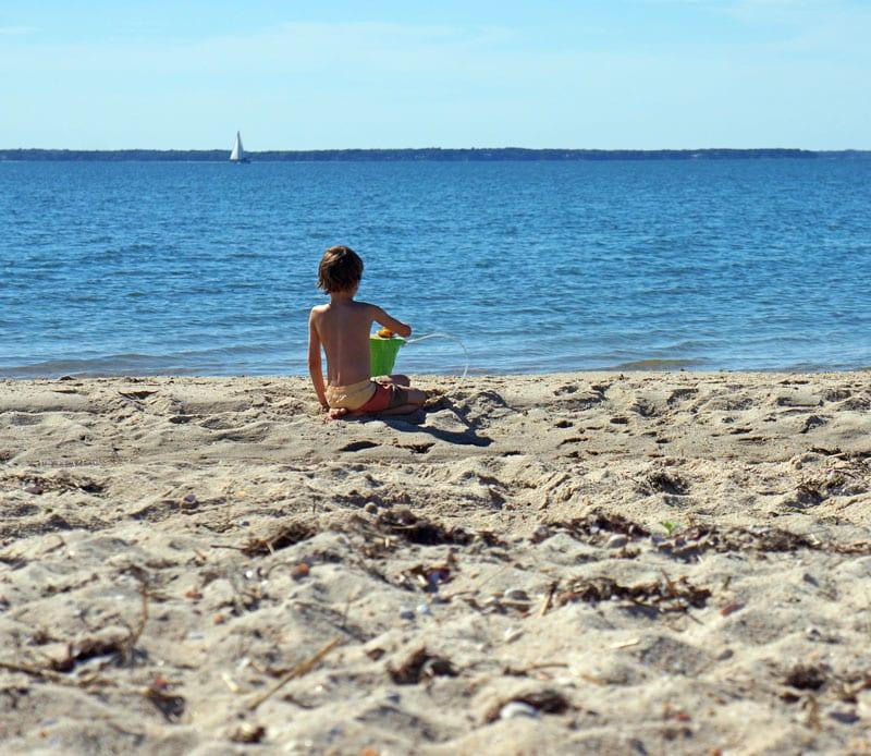 Beach play sailboat Long Beach Hamptons