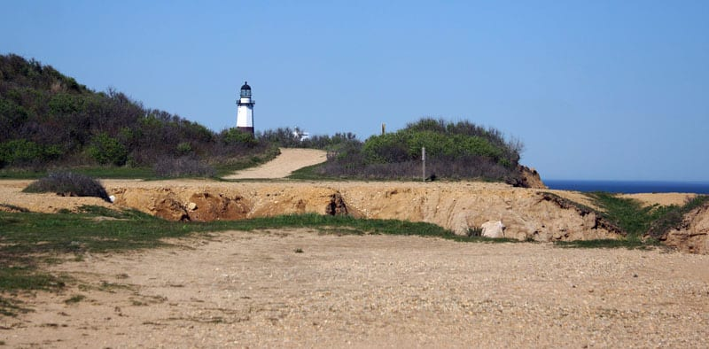 Montauk Lighthouse viewed from Montauk State Park