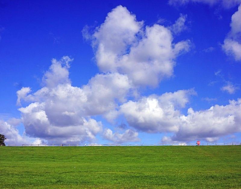 clouds above Ardingly Reservoir