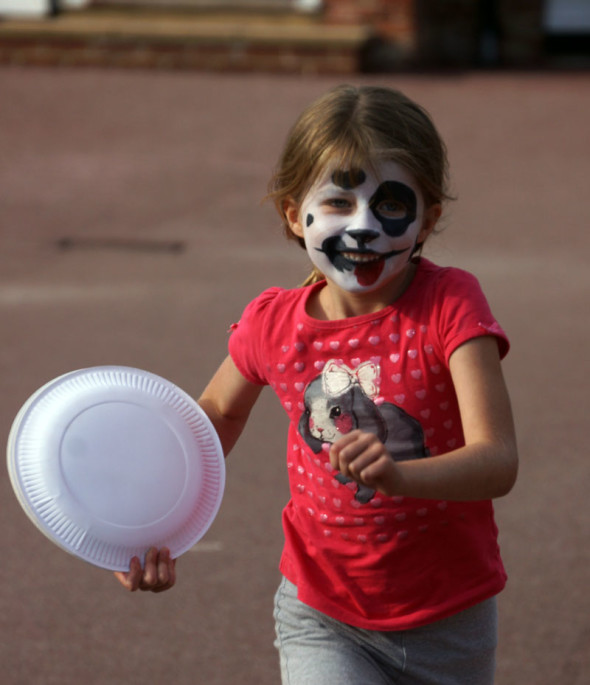 dalmation facepaint