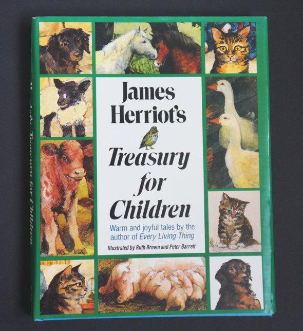 cover James Herriot's Treasury for Children