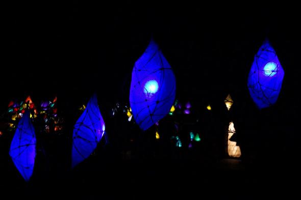 glow wild lantern festival Wakehurst Place