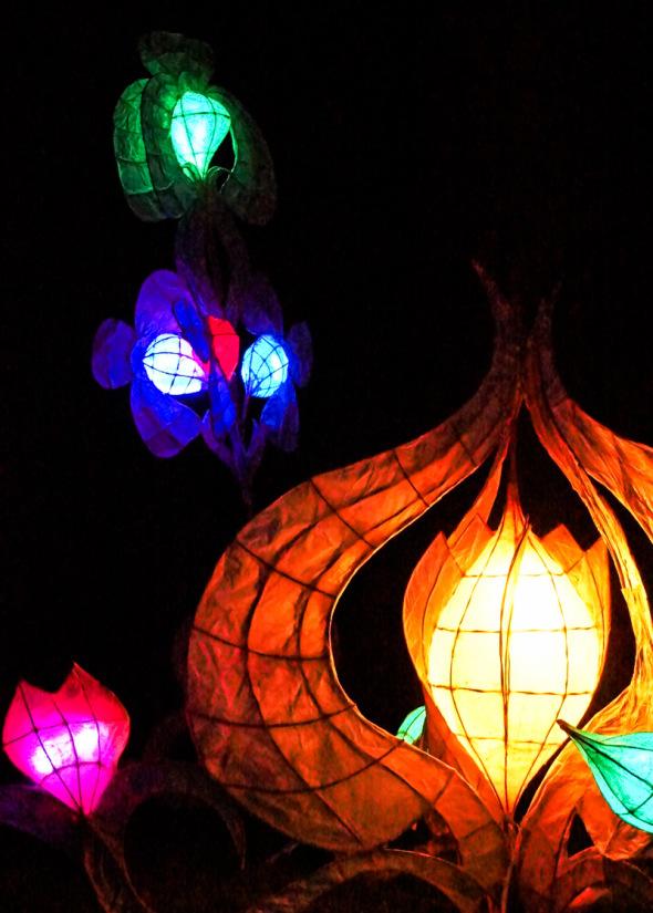 Lantern sculptures Wakehurst Place