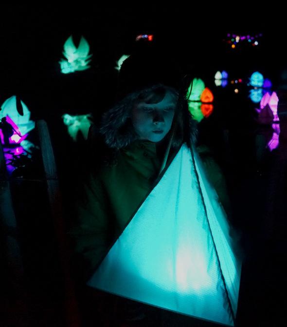Theo lantern Wakehurst winter festival