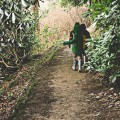 Kids on Wakehurst Place trail