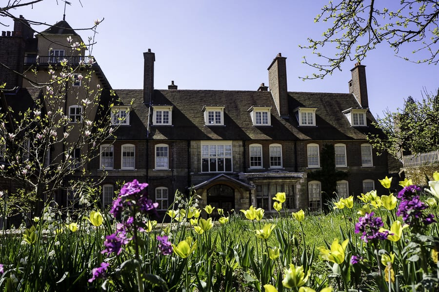 Main entrance Standen House in Sussex