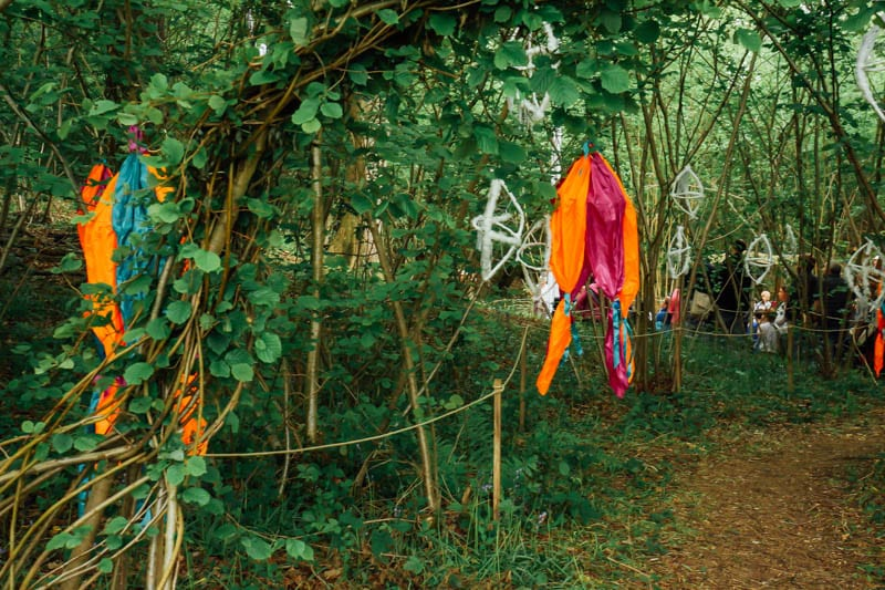 Whispering Wood Folk performance entrance
