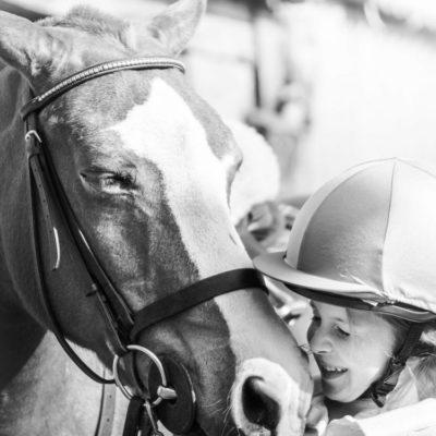 Luce the rider