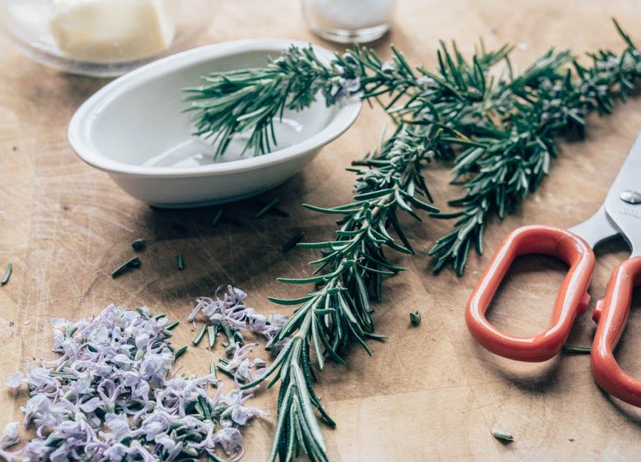 Cut Rosemary Flowers