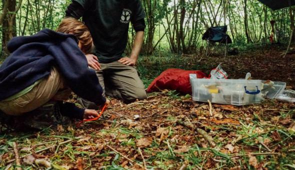 Wakehurst camp fire lesson