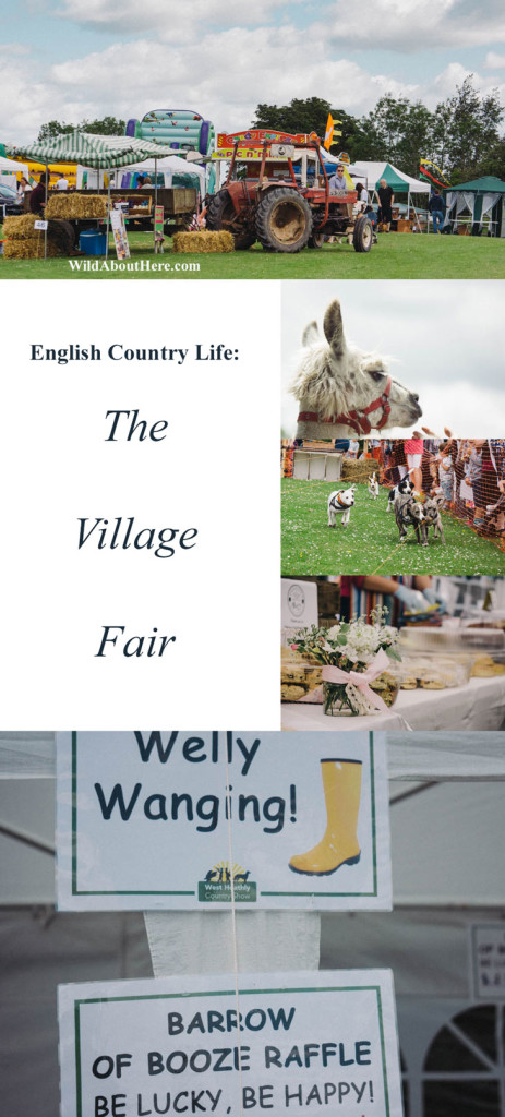 English Country Life The Village Fair