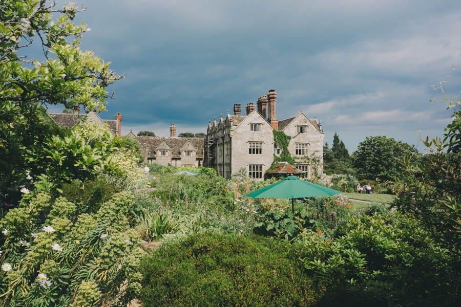 Gravetye Manor house and gardens