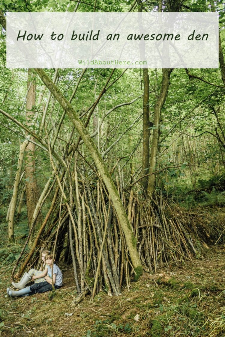 How to build an awesome den in the woods