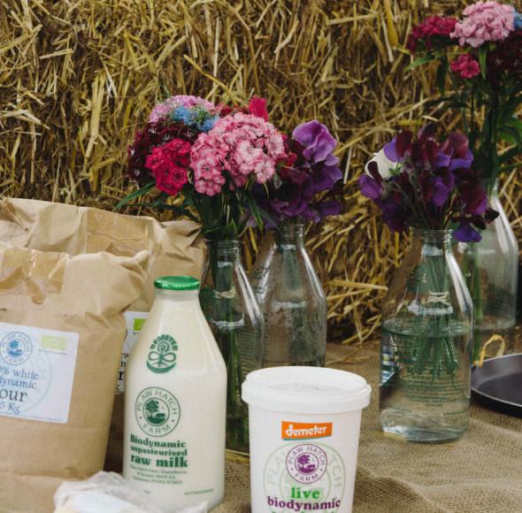 Plawhatch farm stand at village fair