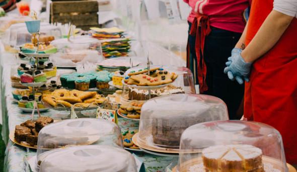 cakes at village fair
