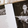 Derek Jarman photo by Howard Sooley in book